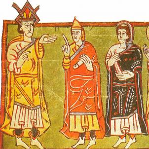 Test 88. Els primers visigots a Catalunya. Representació de les oligarquies hispano visigòtiques. Font Enciclopèdia
