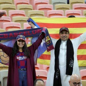 Jiddah Aràbia Saudita Barça Atlètic Madrid estelada EFE