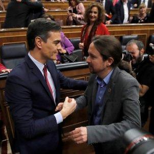 Pedro Sánchez Pablo Iglesias EFE