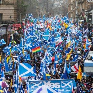 manifestacio escòcia EFE