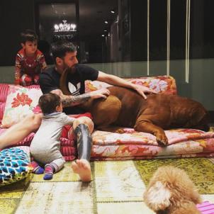 familia messi - instagram