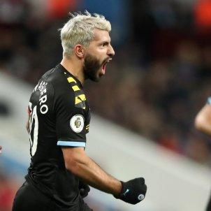 Sergio Kun Aguero Manchester City Aston Villa Europa Press