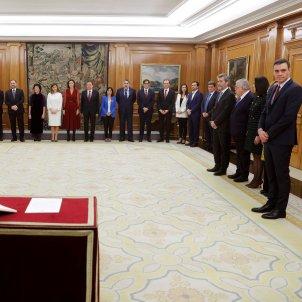 Presa possessió govern Sánchez   EFE