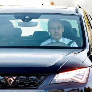 Josep Maria Bartomeu cotxe EFE