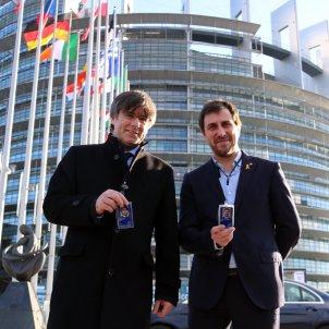 Puigdemont Comín Parlament Europeu ACN