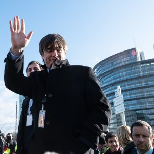 Carles Puigdemont sessió  Parlament Europeu EFE
