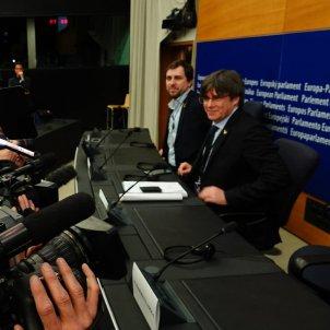 Carles Puigdemont Toni Comín Parlament Europeu / Roberto Lázaro