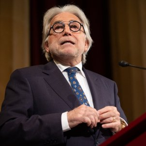 EuropaPress 2589534 El presidente de Foment del Treball Josep Sánchez Llibre interviene en la Asamblea General