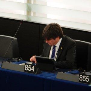 Carles Puigdemont Eurocambra Roberto Lazaro (1)