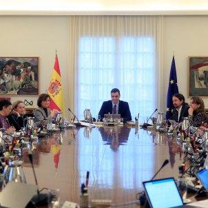 primera reunió consell de ministre Sánchez Iglesias EFE