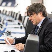 Carles Puigdemont eurodiputat parlament Europeu 13 gener EFE