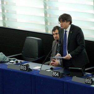 Puigdemont intervé Parlament Europeu ACN