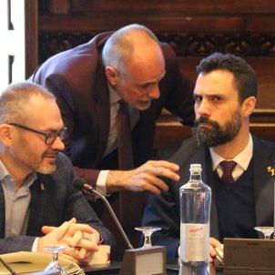 Roger Torrent Josep Costa lletrats Parlament Mesa - ACN