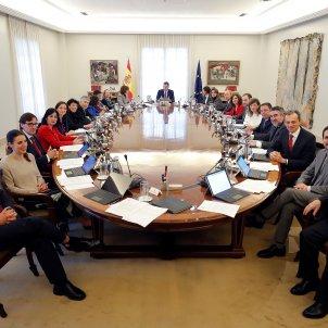 Primer consell ministres Sanchez Iglesias EFE