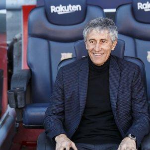 Quique Setién Entrenador Barça fcb - Sergi Alcazar
