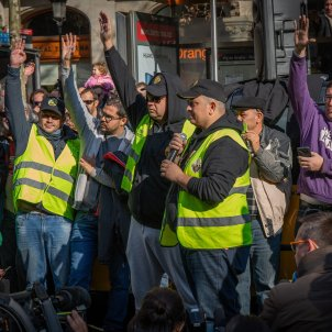 EuropaPress 1844568 Élite Taxi pide a la asamblea de huelguistas evitar enfrentamientos con conductores de VTC