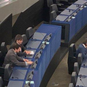 comin puigdemont parlament europeu - marta lasalas