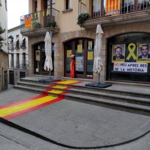 ERC Solsona bandera espanyola ACN