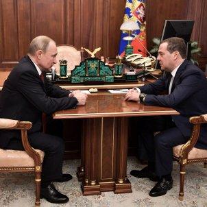 vladimir putin Dmitri Medvédev - efe