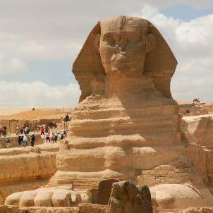 Esfinx Giza Piràmide de Menkaur Egipte