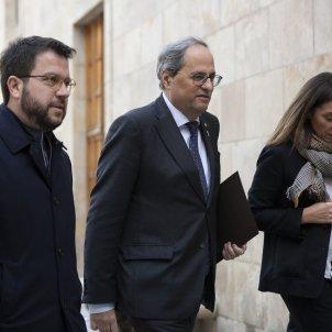 Reunio Taula Partits entitats independentistes Torra Aragonès Budo - Sergi Alcazar