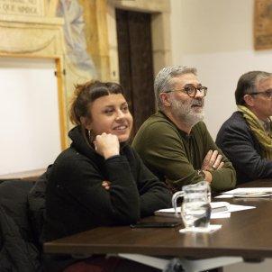 Reunio Taula Partits entitats independentistes Carles Riera - Sergi Alcazar