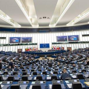 euro parlament europeu eurocambra ple estrasburg efe