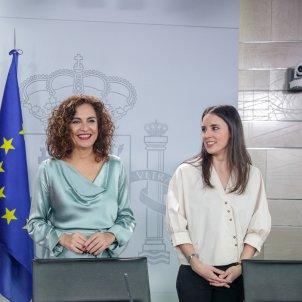Celáa, Montero i Irene Montero   EP
