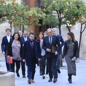 reunio taula partits catalans Generalitat Torra Aragones Budo - Sergi Alcàzar