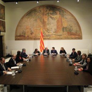 reunio taula partits catalans Generalitat Torra - Sergi Alcàzar