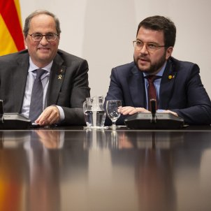 reunio taula partits catalans Generalitat Torra Aragonès - Sergi Alcàzar