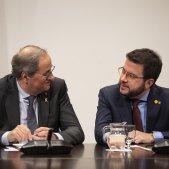 reunio taula partits catalans Generalitat Torra Aragonès - Sergi Alcàzar Sergi Alcazar