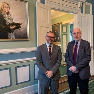 Josep Costa president Parlament islandia @josepcosta