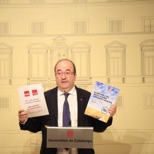 reunio taula partits catalans Generalitat Miquel Iceta  - Sergi Alcazar