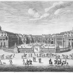 Gravat de Versalles (1672). Font Bibliothèque Nationale de France