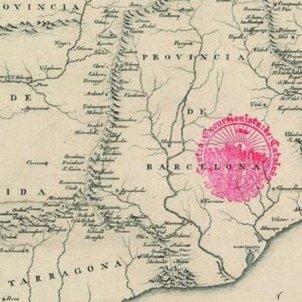 mapa antic catalunya foto bcncultura