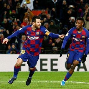 Messi Ansu Fati Barca Granada EFE