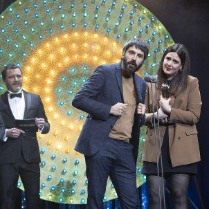 Belen Funes i Marçal Cebrian Premis Gaudí Hija ladrón ACN