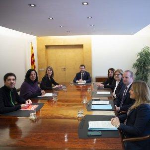 Acord Pressupostos Economia Aragones Albiach Budo - Sergi Alcazar