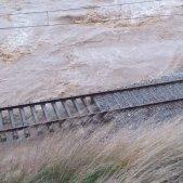 Consulta les afectacions al servei ferroviari pel temporal