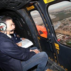 Pedro Sánchez Orihuela helicopter - Europa Press