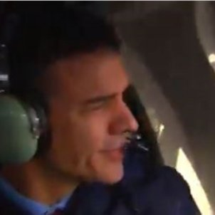 Pedro Sánchez helicòpter Europa Press