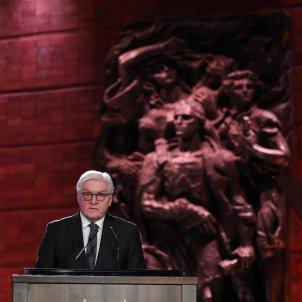 Frank Steinmeier Museu Holocaust EFE