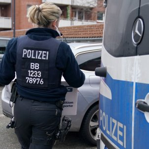 Policia alemanya escorcoll EFE