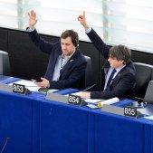 Puigdemont i Comín retiren la petició d'adherir-se als Verds a l'Eurocambra