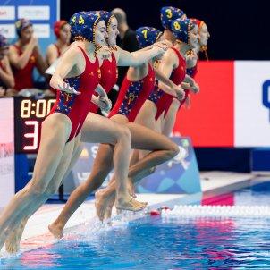 Selecció espanyola waterpolo femení @RFEN directo