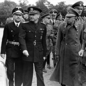 Serrano Suñer i Himmler. Font Budesarchiv