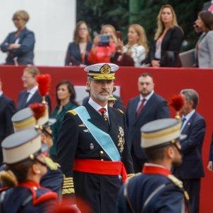 EuropaPress 2422921 El rey Felipe VI asiste al desfile militar por el Día de la Fiesta Nacional en Madrid (España) a 12 de octubre de 2019