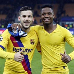 Carles Pérez Ansu Fati FC Barcelona