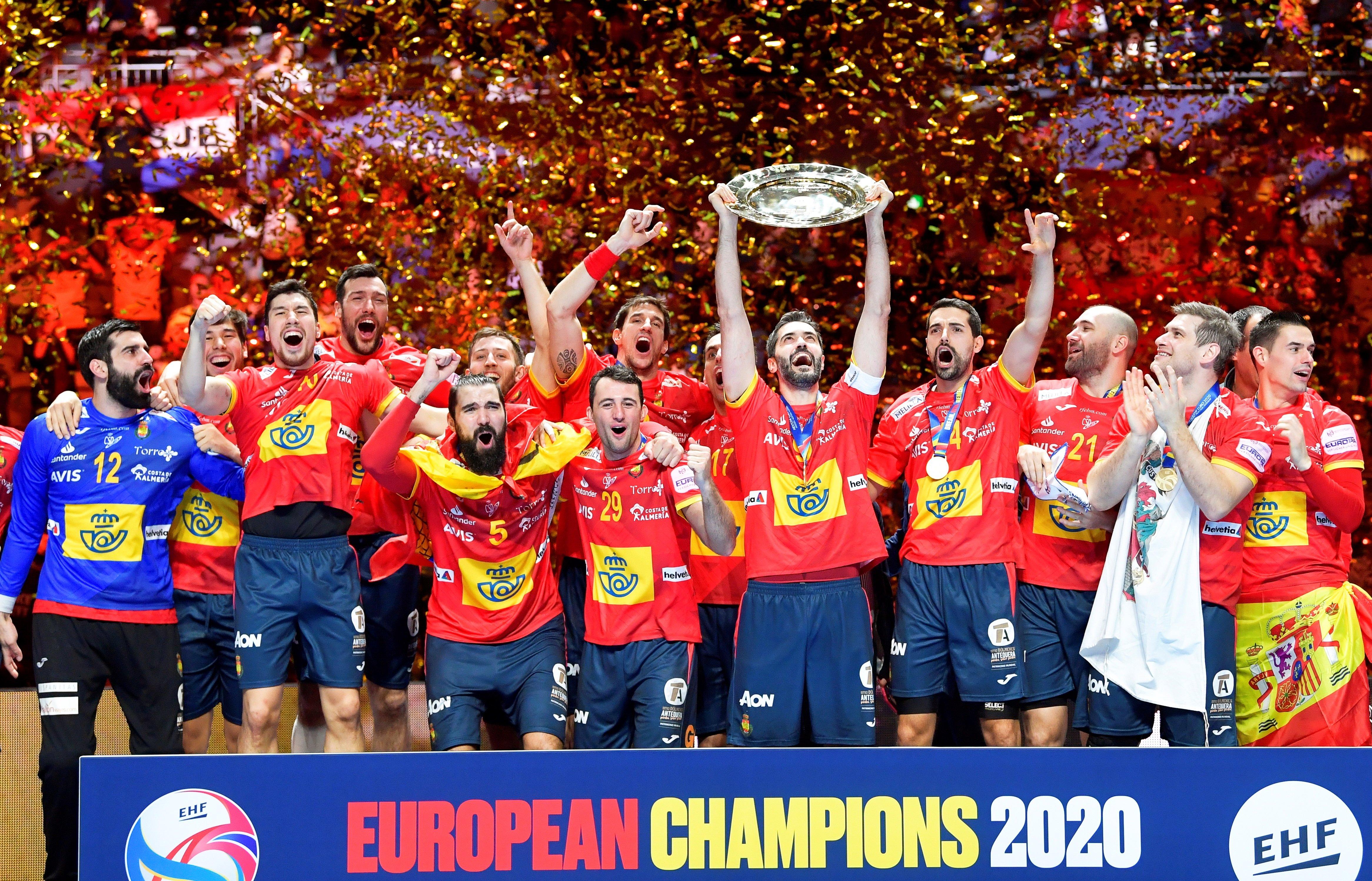 España Campeona De Europa De Balonmano Por Segunda Vez